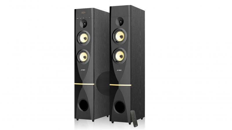 "F&D has launched its newest & powerful ""T88X"", Multimedia Tower Speakers."
