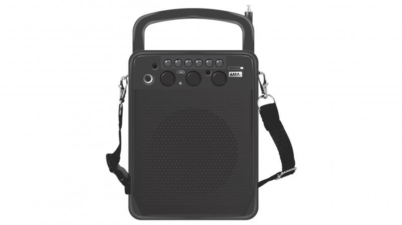 VingaJoy has launched SP-40 Acoustic Bass Wireless Speaker.