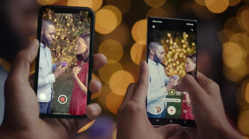 Samsung roasts the iPhone 11 with brutal ad