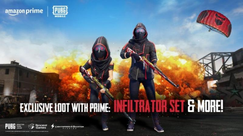 To get the items, a player must link his/her Amazon and Twitch accounts to the PUBG account and have a valid prime membership.