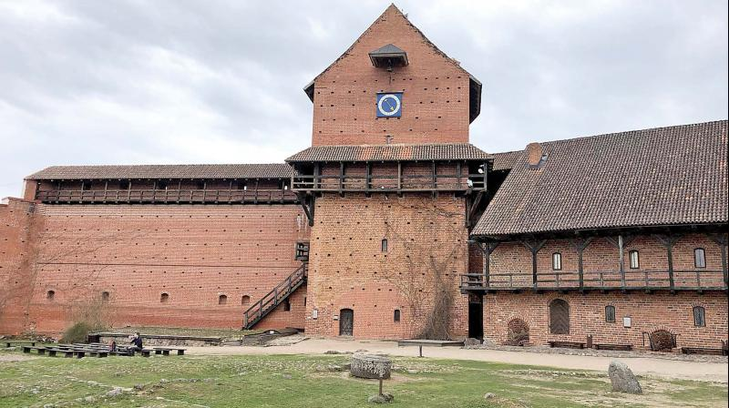 Turaida castle situated in the Gauja Valley is one of the oldest visible castles of Latvia.
