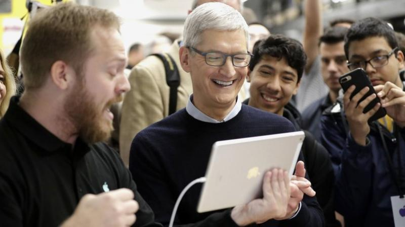 Apple was a part of over 2 million jobs in the US. (AP Photo/Charles Rex Arbogast, File)