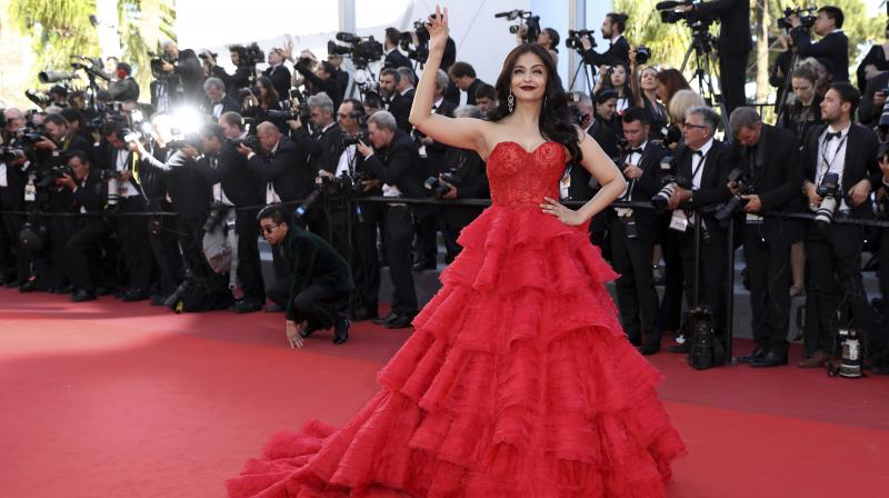 Aishwarya Rai Bachchan at the Cannes Film Festival 2017. (Photo: AP)