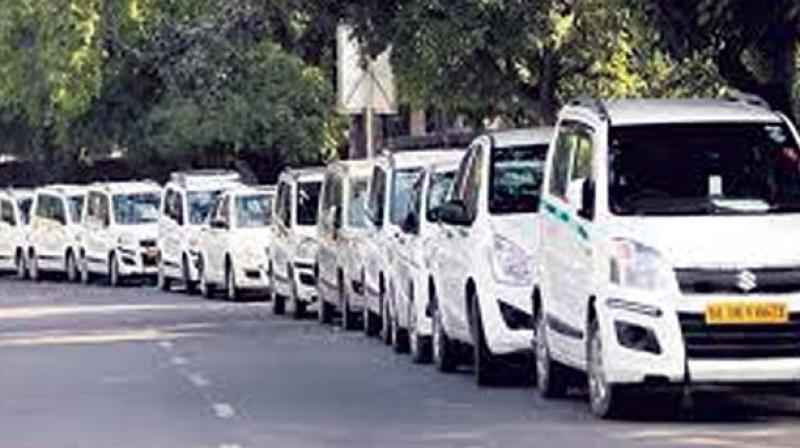 "According to sources, the cab operator is wary of protests from the traditional auto and taxi drivers and ""is not keen"" to conduct the services from these stations."