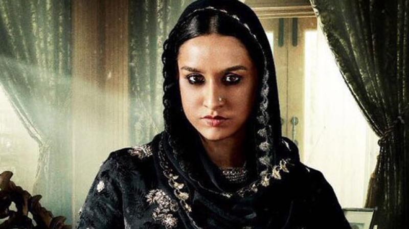 Shraddha plays Dawood Ibrahim's sister Haseena Parkar in Apoorva Lakhia's Haseena: The Queen of Mumbai.