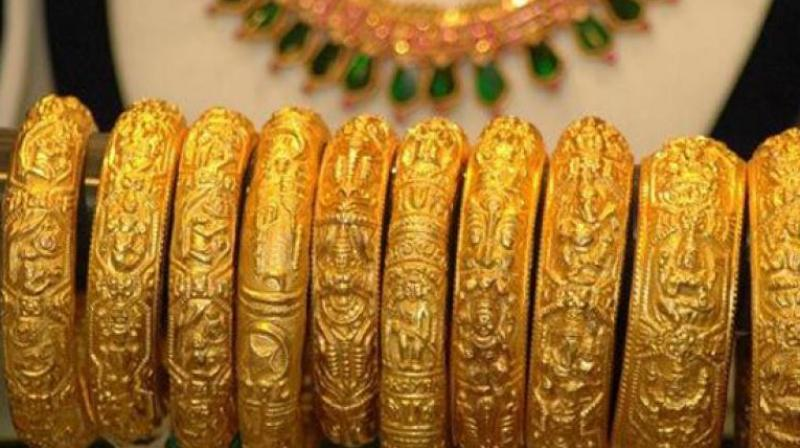 Gold futures remain weak, shed 0.36 per cent on global cues