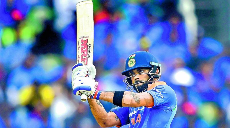 Kohli will be only the ninth cricketer to score 11,000 runs in ODI matches, and the third Indian cricketer to do so. (Photo: File)