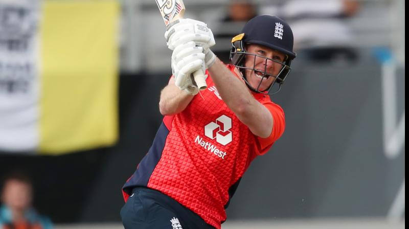 Limited-overs skipper Eoin Morgan on Sunday became the first English batsman to complete 2000 runs in the T20I. (Photo:AFP)