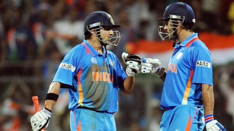 For quite some time, Gautam Gambhir has been slamming the former Indian skipper, Mahendra Singh Dhoni for his decisions, which cost the former Indian cricketer his place in the Indian squad. After lambasting the 2011 World Cup winning captain for his rotation policy, the BJP MP now has come out with a new revelation, stating that the veteran wicket-keeper batsman intentionally told him to go after his personal milestone, so that the left-hander batsman fails to reach the landmark. (Photo:Twitter)