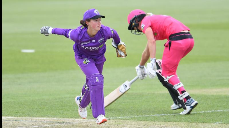 Cricket Australia (CA) on Monday handed a one-year ban to Hobart Hurricanes player Emily Smith for breaching their Anti-Corruption Code. (Photo:Twitter)