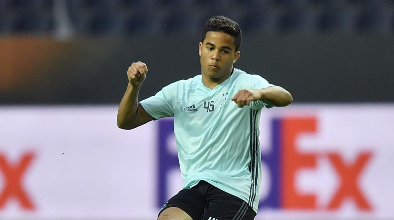 Kluivert scored 10 goals in 30 league appearances for Ajax last season and earned his first cap for the Netherlands in March. (Photo: AP)