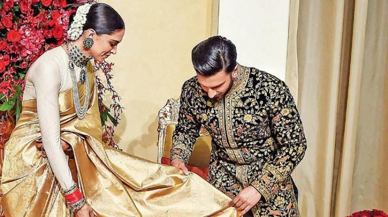 Deepika Padukone and Ranveer Singh's Bengaluru reception: Inside pics and videos