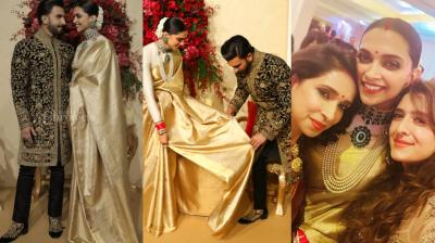 After a dreamy destination wedding, Ranveer Singh and Deepika Padukone celebrated their marriage with close friends and family.