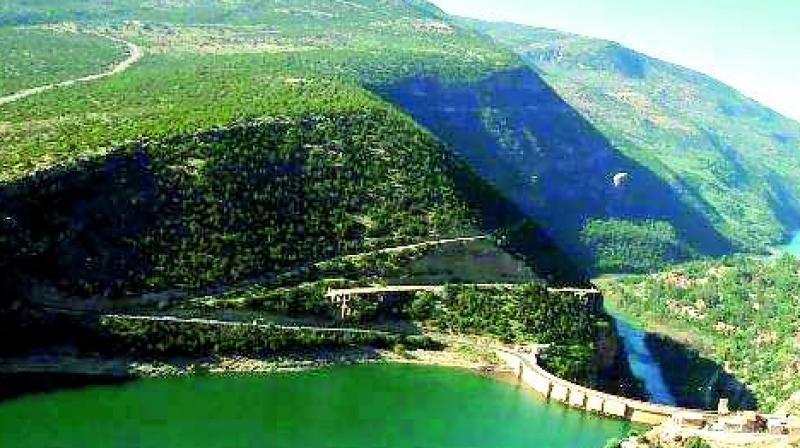 Lake Bin El Ouidane