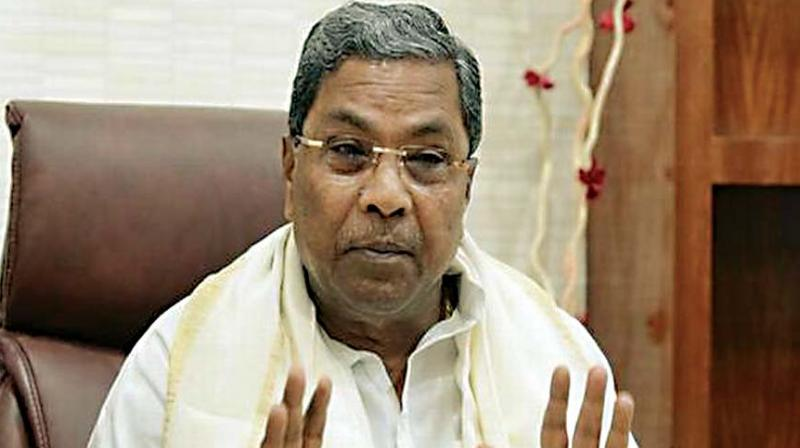 Former chief minister Siddaramaiah