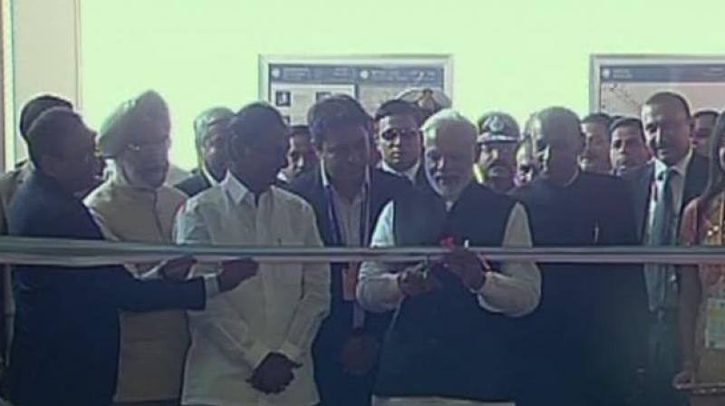 Hyderabad Metro Rail project inaugurated by PM Modi