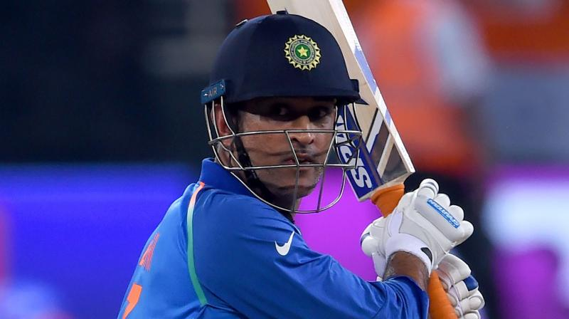 The Jharkhand wicket-keeper batsman had stepped down as India's limited-overs captain in January 2017 with Virat Kohli being announced as his successor. (Photo: AFP)