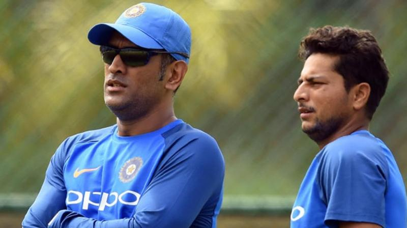 The Uttar Pradesh chinaman was adamant and confronted Dhoni to implement the change of field until an epic response from the veteran wicketkeeper completely silenced Kuldeep. (Photo: BCCI)