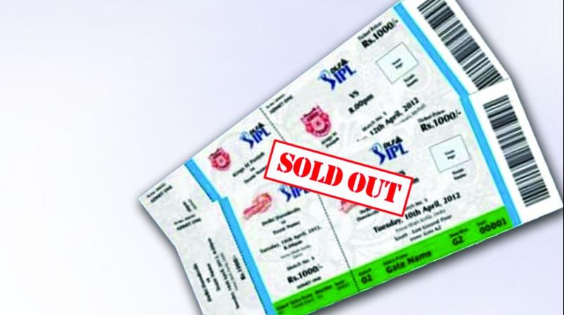 All across the world, the ticketing process is entirely online for transparency and accountability, but here is a reverse. No body can question, because the only answer would be 'tickets sold out'.