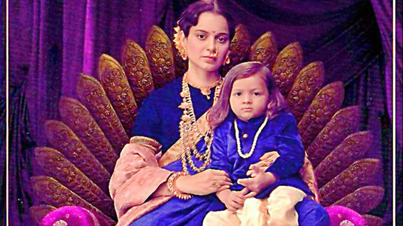 Kangana Ranaut is playing the title role in the film which is ready to release on January 25.