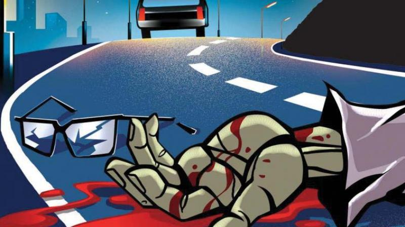 As they reached Sainikpuri, Santosh lost control and rammed his vehicle into the electric pole. Santosh's head hit the pole and he suffered a critical injury which caused him to die on the spot. (Representational Image)