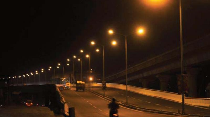Police department has also written to BBMP about non-functioning street lights (Representational Image)
