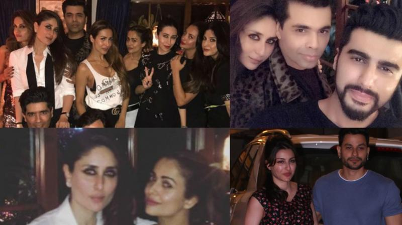Kareena Kapoor Khan turned another year older on Thursday and celebrities turned up in good numbers to celebrate the occasion with her later in the evening. (Photo: Viral Bhayani/ Instagram)