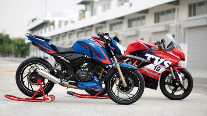 TVS has been making really sporty motorcycles of late. Keeping up with the tradition, the Hosur-based manufacturer is set to unveil race-spec versions of their two new motorcycles - the RR 310  and the race-tuned Apache RTR 200 Race Edition at INMRC this weekend.