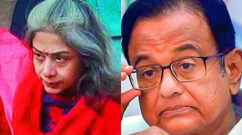 This rebuttal from the senior Congress leader and Rajya Sabha MP's side came in response to the HC judge who inquired if Chidambaram had ever met Indrani Mukerjea. (Photo: File)