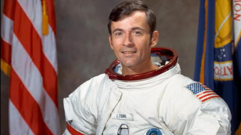 Young was born Sept. 24, 1930 and grew up in Orlando, Florida. (Credit:NASA)
