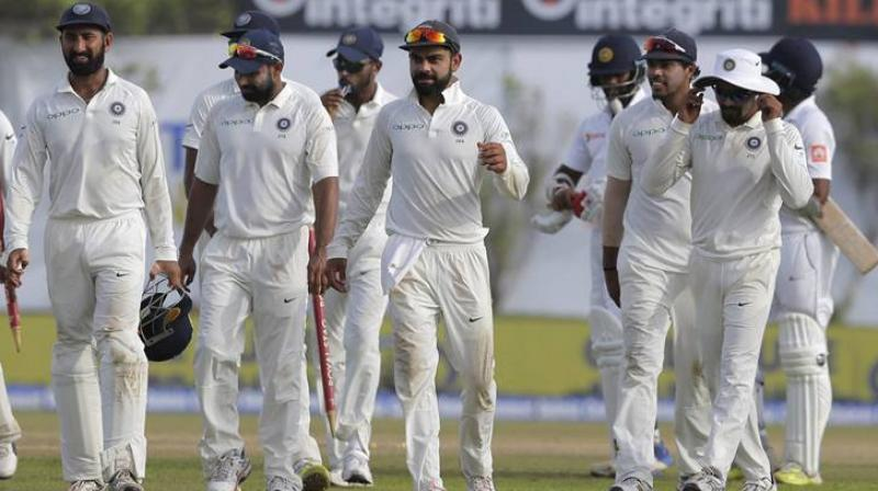 The Indian team will test themselves in two Test matches from August 22 to 26 at the Vivian Richards Cricket Ground in Antigua. (Photo: AFP)