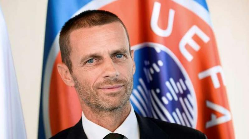 "Aleksander Ceferin says ""the digital landscape is evolving and we need to be in a position where we can anticipate and respond to these changes."" (Photo: AFP)"