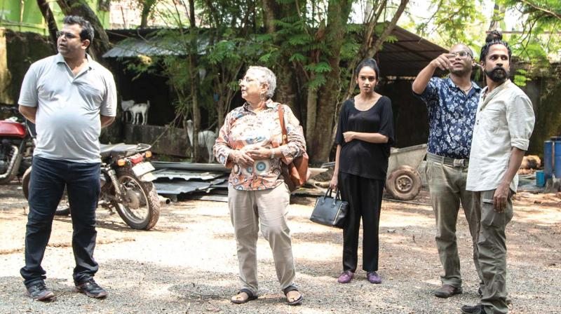 Curators review the Kochi-Muziris Biennale in Fort Kochi