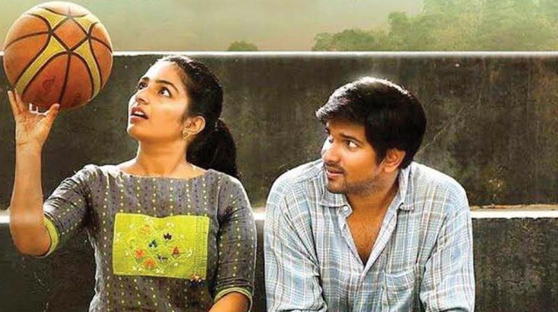 When it comes to performances, Rajisha is convincing as a passionate cyclist and obedient daughter. Niranj, son of actor Maniyanpilla Raju, has improved from his previous outing Bobby.