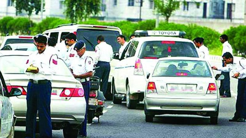 Many state governments, including the BJP-ruled Gujarat, are not convinced by the provisions of hefty fines. (Photo: Representational image)