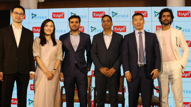 Syska Group for the first time has partnered with a global IoT company to bring smart home products in the Indian market.