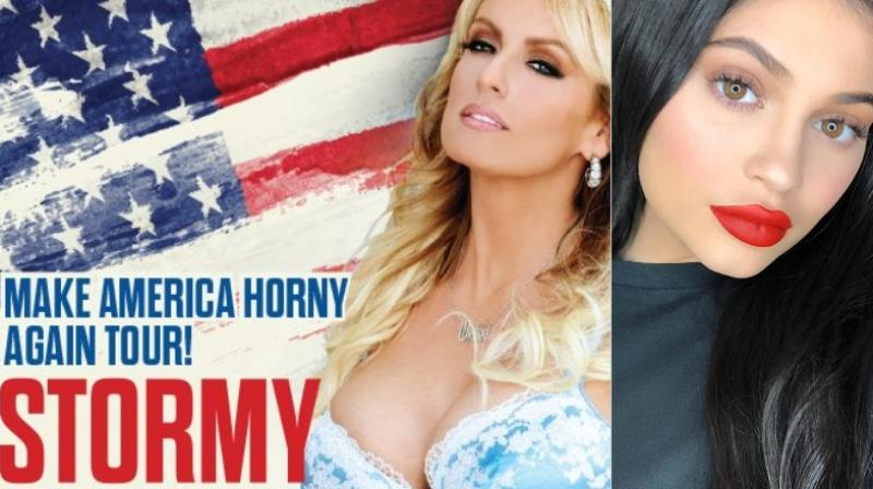 Adult film star Stormy Daniels and Kylie Jenner's newborn daughter share the same name