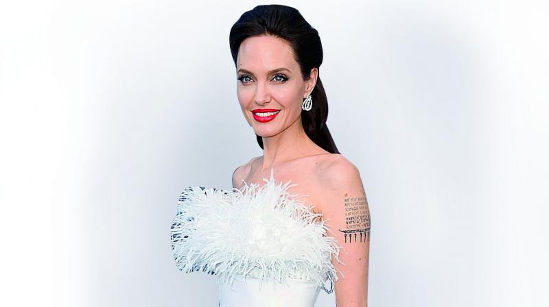 That actress Angelina Jolie is a fiercely protective mom is a well-known fact.
