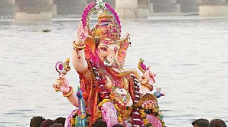 Like last year, PCB has placed orders for 1.6 lakh eight-inch idols out of which one lakh would be distributed in the city with the help of GHMC and other departments. (Representational image)