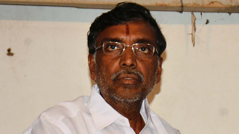 Tamil Nadu Education minister K.P. Anbalagan
