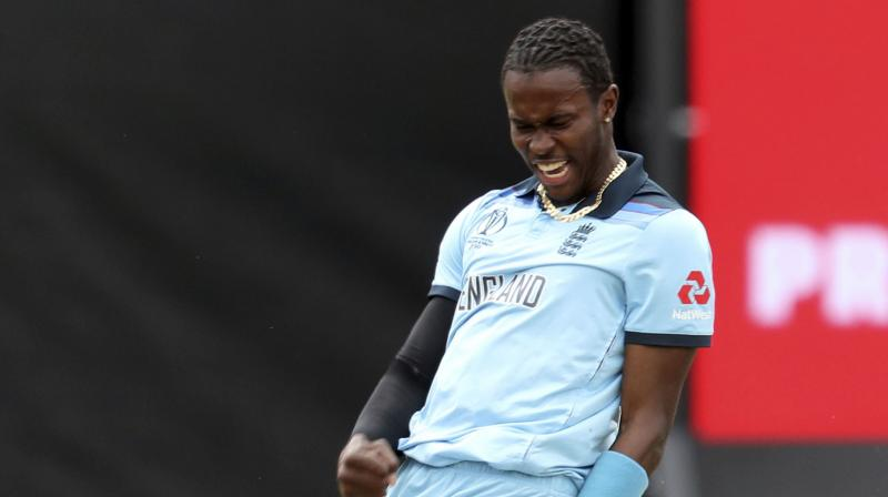 Archer, who has been battling a side niggle for a while, said his focus remained on helping England triumph at Lord's where they will bid to win their first World Cup. (Photo: AP)