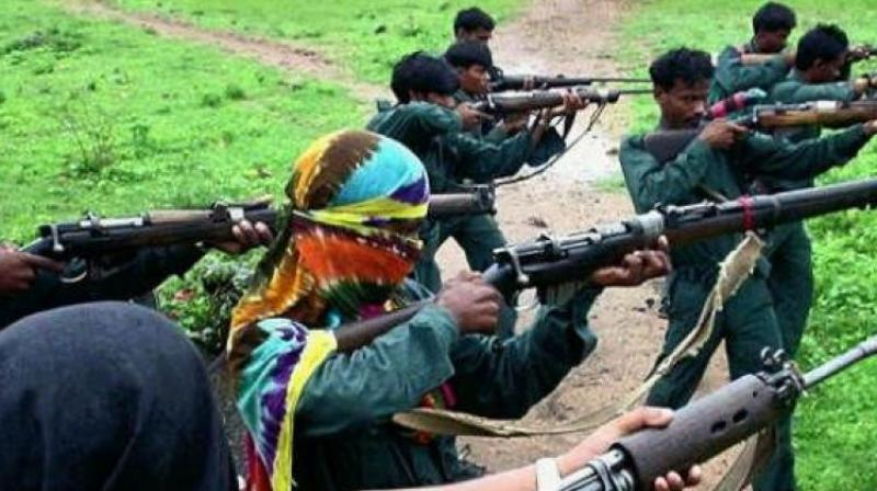 'In Bijapur, a joint team of CRPF's 168th battalion, District Reserve Guard (DRG) and local police had launched a search operation in the forest of Basaguda police station area to trace some Naxals wanted in separate cases, following inputs about their movements,' a senior official said. (Photo: PTI)
