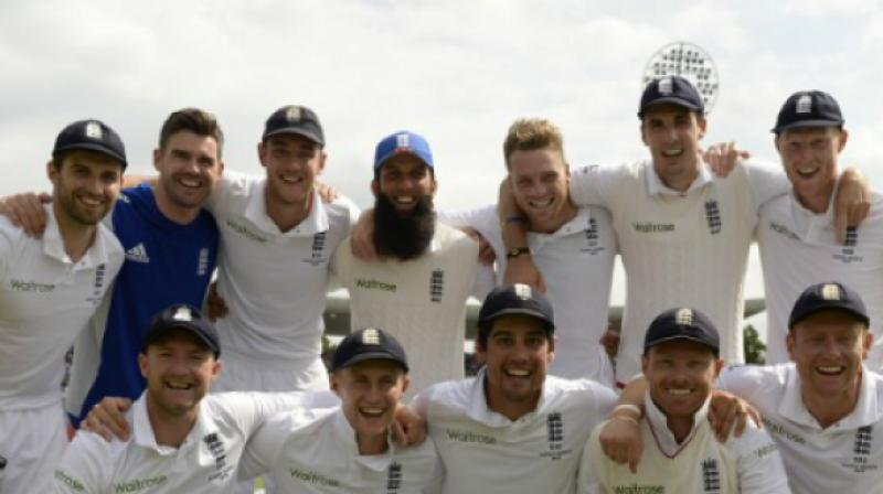 England are the defending champions of the Ashes, having won the Urn against Australia in 2015. The two teams will once again battle out for the coveted title when the Three Lions travel Down Under in November. (Photo: AFP)