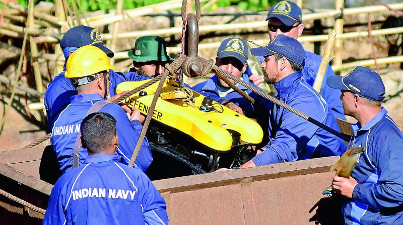 The families of four of the 15 miners had on Saturday asked the rescuers to retrieve the decomposed body so that they could perform the last rites. (Photo: File)
