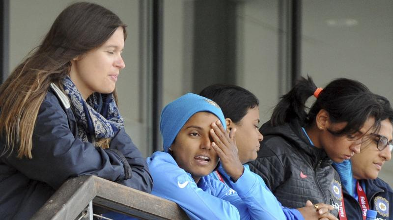 There are 21 per cent chances of rain around the toss time, at 10.00 AM local time (2.30 PM IST) and the possibility of rain increases to 47 per cent thirty minutes after the scheduled start of play. (Photo: AP)
