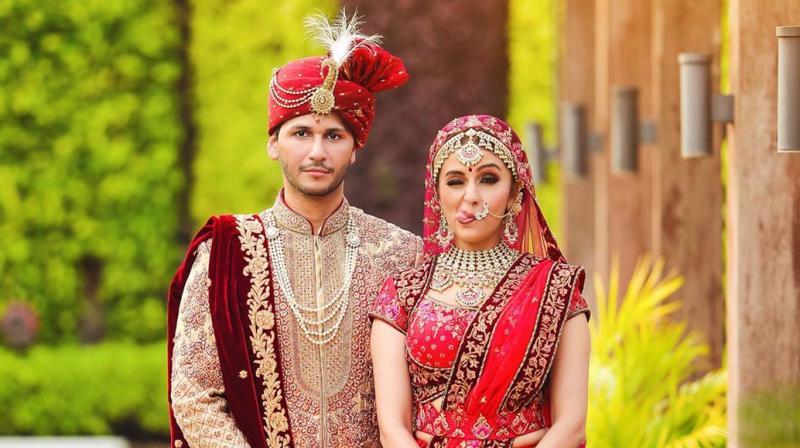 Aarti Chabria and Visharad Beedassy. (Photo: Instagram)