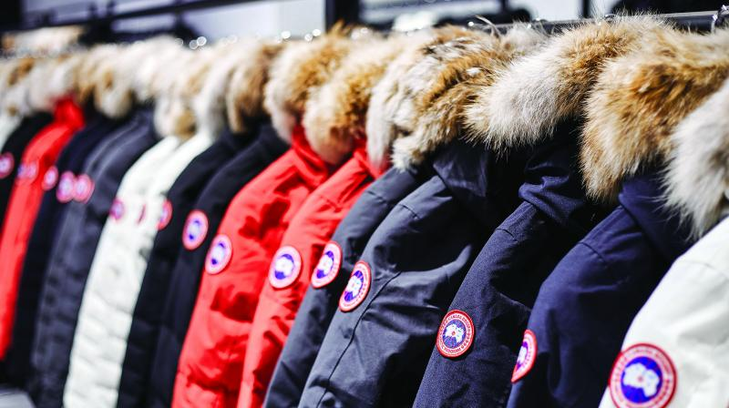 Abercrombie shares fell 26 per cent on Wednesday, the most since going public in 1996, while Canada Goose plunged 31 per cent, the most since its 2017 IPO. Capri declined 9.9 per cent.