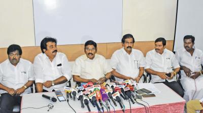 It's K Chandrasekhar Rao's Megha scam: S Jaipal Reddy