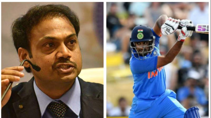 MSK Prasad reveals why Mayank was picked ahead of Rayudu in WC