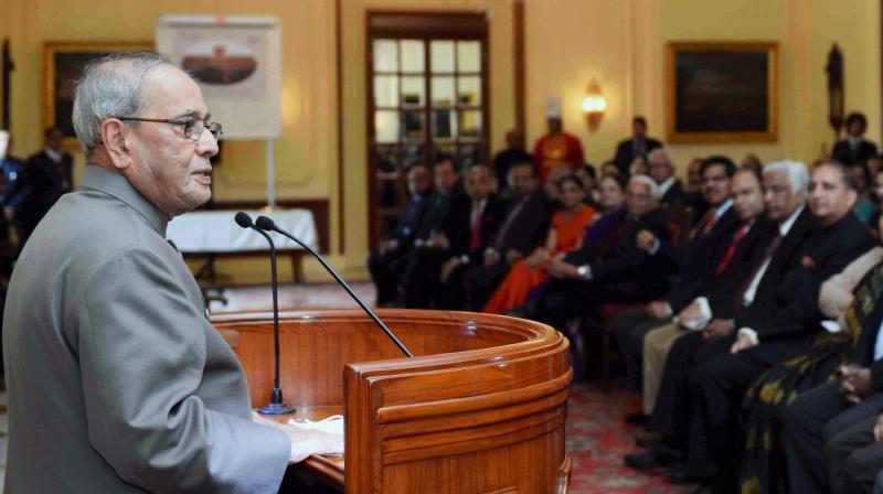 President Pranab Mukherjee. (Photo: PTI/File)